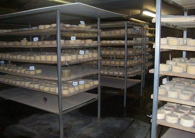 affinage fromage à Jalavoux